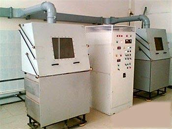 Вакуумная установка электролитно-плазменного полирования изделий